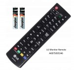 Genuine LG SM Monitor Display Remote Control AKB75095346