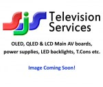 OLED, QLED & LCD Main AV boards, power supplies, LED backlights, T.Cons etc.