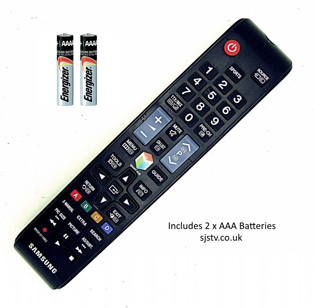 Samsung Original Bn59 01198q Tv Remote Con